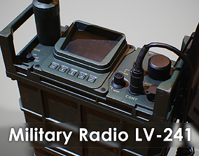3D asset Military Combat-net Radio - LV 241 other