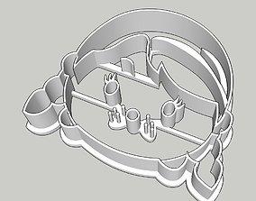 3D print model Tsum Tsum Ana of Frozen Cookie Cutter