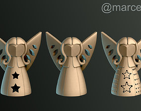 Angels for Christmas 3D printable model