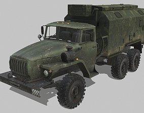 URAL 4320 3D model low-poly