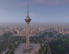 3D model Milad tower
