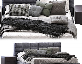 3D Minotti Lawrence Bed cloth