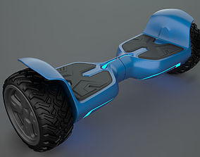 Hoverboard 3D asset realtime