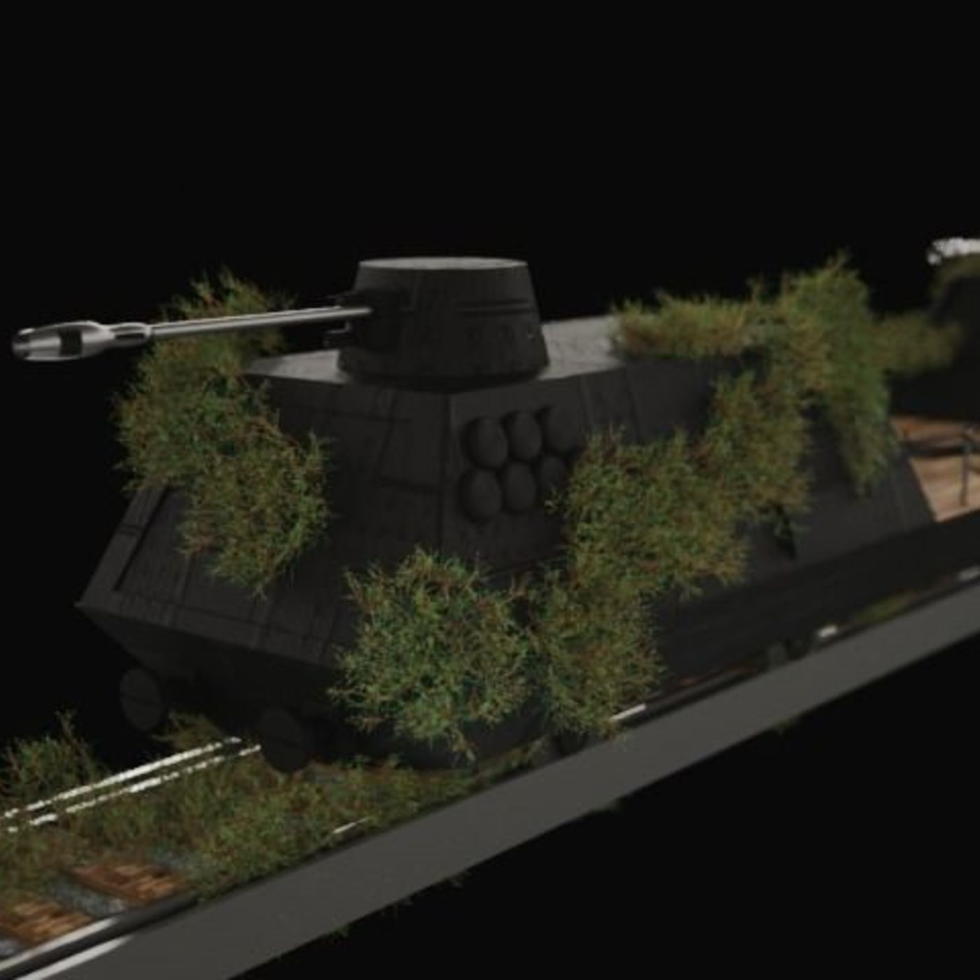 Military Wagon WW1 Saboteur