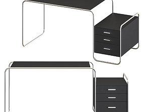 3D model Thonet S 285-1 - work desk