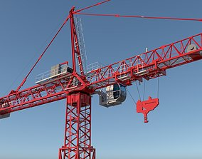 construction TOWER CRANE 3D model