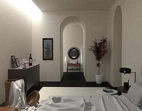 coronarender Bedroom 3D model