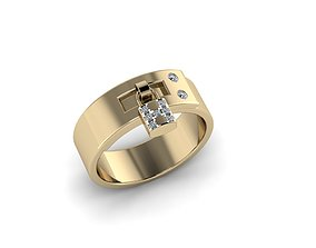 Jewelry Ring 3D printable model jewellery engagement-ring