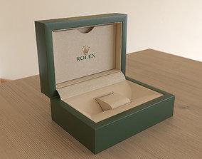 3D asset Rolex Watch Box - PBR -