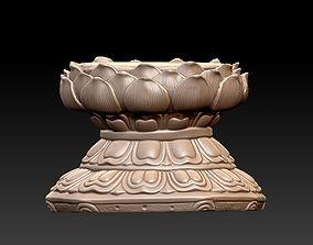 3D print model lotus seat