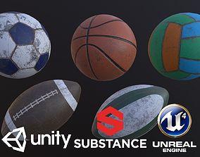 Balls Equipment 3D model