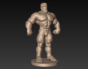 Muscular Man Basemesh 3D