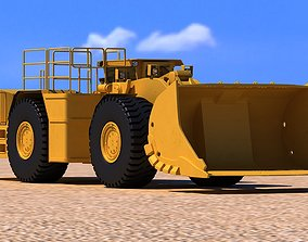 3D Caterpillar R3000H Underground Wheel Loader