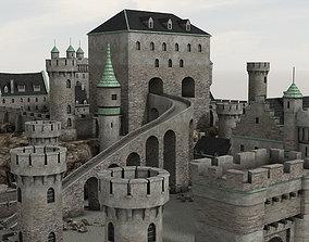 Medieval Castle 3 3D asset