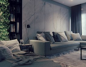 3D Modern Living Room Lumion 9 Interior Scene Plus 2