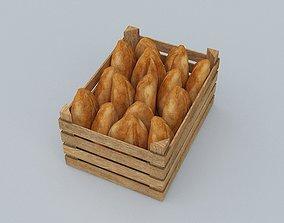 storage Bread 3D model game-ready