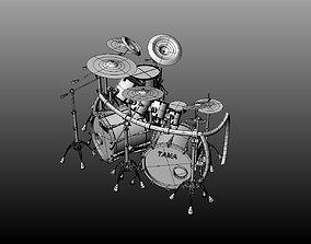 Drumset 3D model