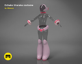 Ochako Uraraka costume 3D print model
