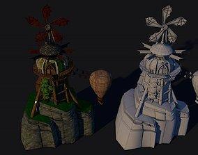 3D model Viking Mill