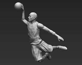 Michael Jordan 3D printing ready stl obj