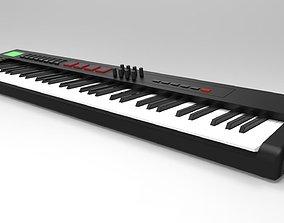 MIDI keyboard 3D