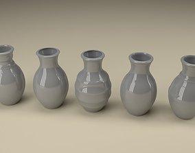 Ceramic jugs 3D