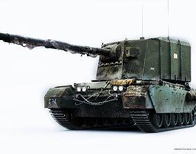 3D TANK FV-4005-stage-II