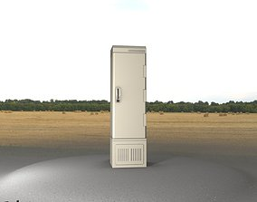 Electrical Distribution Cabinet 92 3D asset