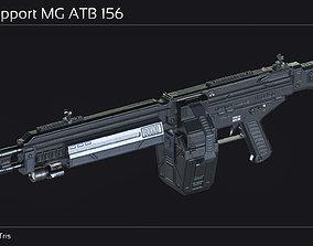 Scifi Support MG ATB 156 3D asset