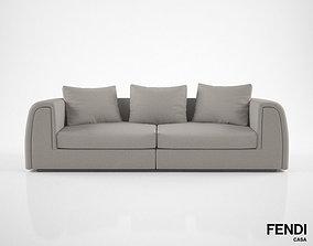 Fendi Casa Pagoda Sofa 3D