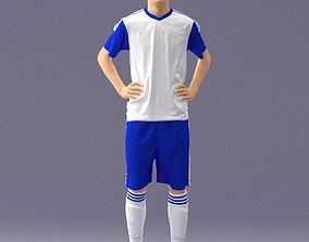 Soccer player 1114-8 3D Print Ready