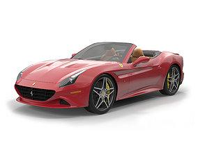 3D Ferrari California T 2015 Roadster