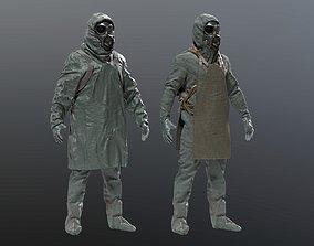 HAZMAT SUIT Chernobyl Liquidator 3D