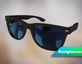 modern sunglasses 3D model
