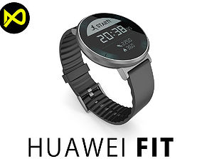 Huawei Fit Small Band Size Smartwatch 3D model