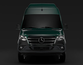 3D Mercedes Benz Sprinter Panel Van L3H3 RWD 2020