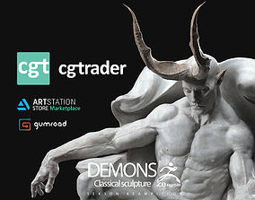 3D print model DEMONS - Classical sculpture