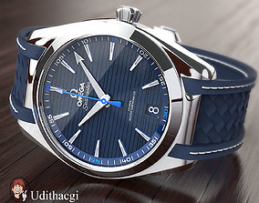 3D model Omega seamaster wrist watch