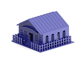 Classic Home road 3D printable model