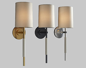 clout tail sconce 3D model