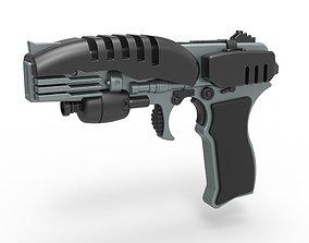3D model Phaser pistol EM-33 from Star Trek Enterprise