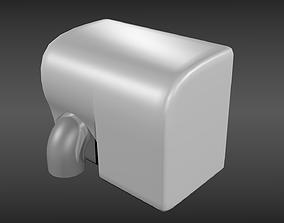 Hand dryer 3D