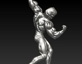 Arnold Schwarzenegger pendant 3D printable model