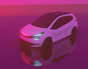 Tata Altroz Free 3D model low-poly