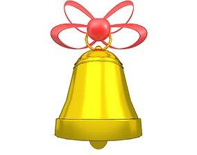 Christmas Bell v1 006 3D model