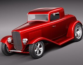 1932 kitcar hotrod 3D model