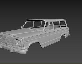 3D printable model Jeep Grand Wagoneer 1991 Body For Print