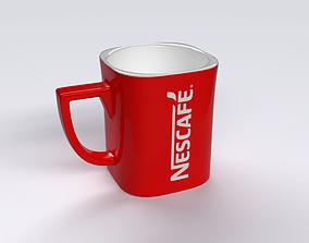 Nescafe mug 3D asset