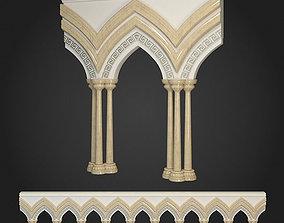 Arcade classicism 3D model