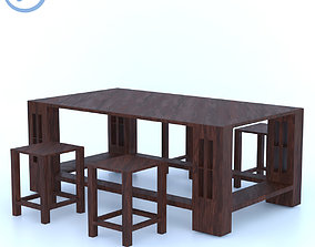table architecture 3D